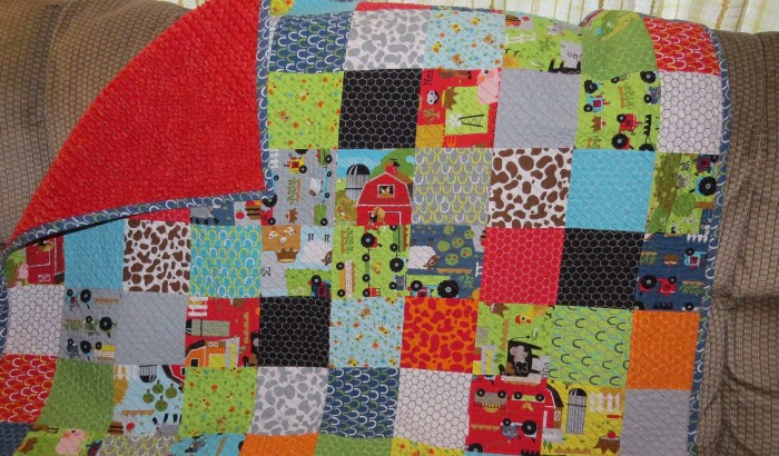 cropped Everett quilt